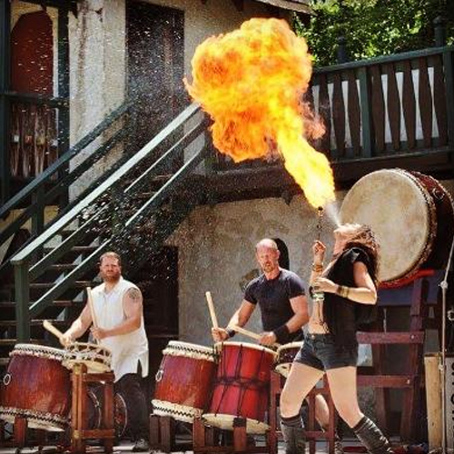 Royal Performer: Adamo Ignis Fire and Danger Show