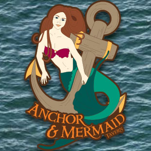 Anchor and Mermaid Tavern Logo
