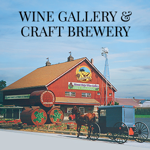 Wine Gallery and Craft Brewery Logo