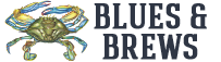 Blues and Brews Text Logo