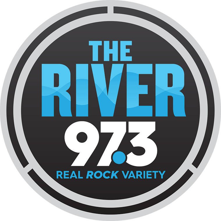 The River 97.3 Logo