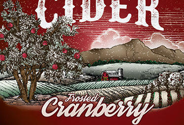Frosted Cranberry Cider