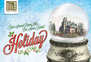 holidays at mount hope open house