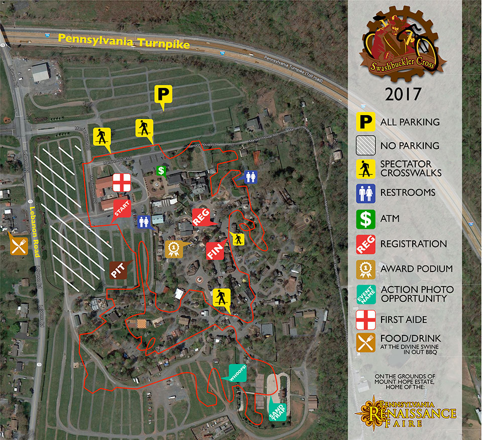 Swashbuckler Cyclocross Map