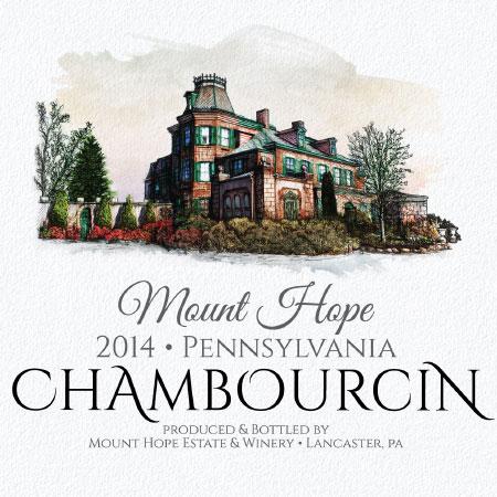 chambourcin label