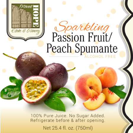 passion fruit label