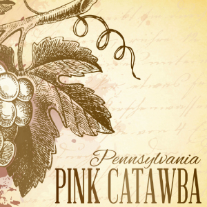 pink catawba label