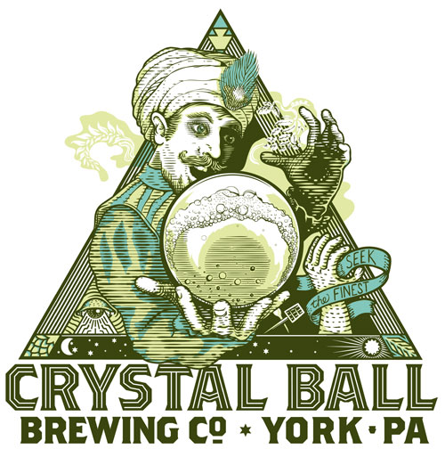 Crystal Ball Brewing Co. Logo