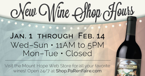 New Wine Shop Hours Slide