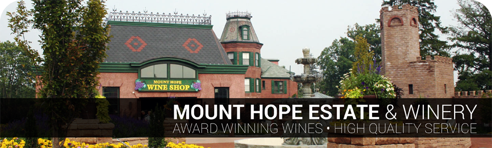 Mount Hope Wine Shop Header
