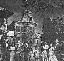Historical Photograph of Mount Hope Mansion